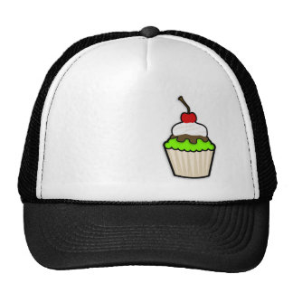 Chartreuse, Neon Green Cupcake Hat