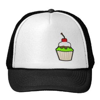 Chartreuse, Neon Green Cupcake Trucker Hat