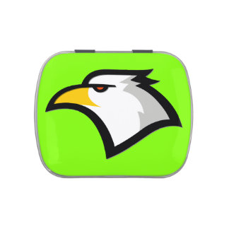 Chartreuse, Neon Green Eagle Candy Tin