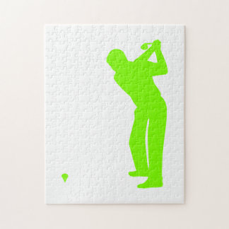 Chartreuse, Neon Green Golf Puzzles