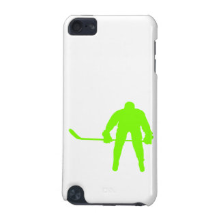 Chartreuse, Neon Green Hockey iPod Touch (5th Generation) Cover