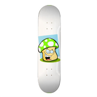 Chartreuse, Neon Green Mushroom Skateboards