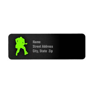 Chartreuse, Neon Green Rocker Label
