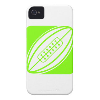 Chartreuse, Neon Green Rugby iPhone 4 Cases