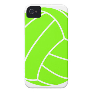 Chartreuse, Neon Green Volleyball iPhone 4 Case
