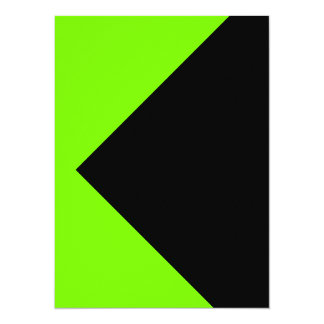 Chartreuse Neon Yellow Green Color Only Tools Card
