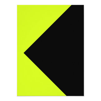 Chartreuse Neon Yellow Green Color Only Tools Personalized Invites