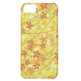 Chartreuse Origami Pattern Case For iPhone 5C