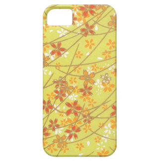 Chartreuse Origami Pattern iPhone 5 Cover
