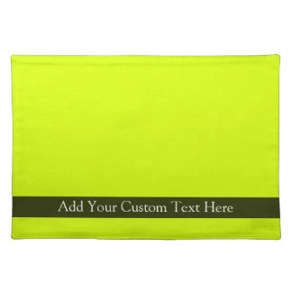 Chartreuse Placemat
