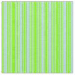 [ Thumbnail: Chartreuse & Powder Blue Striped Pattern Fabric ]