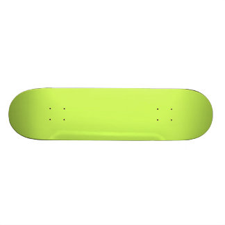 Chartreuse Custom Skate Board