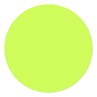Chartreuse Solid Color Card