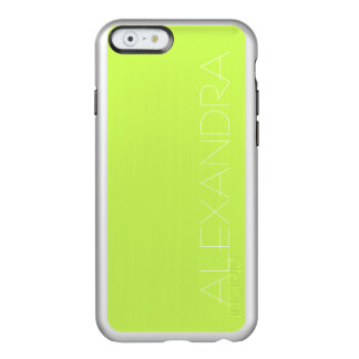 Chartreuse Solid Color Incipio Feather Shine iPhone 6 Case