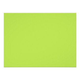 Chartreuse Solid Color Posters