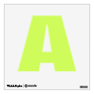 Chartreuse Solid Color Wall Skin