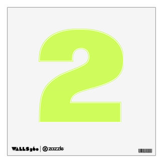 Chartreuse Solid Color Wall Graphic