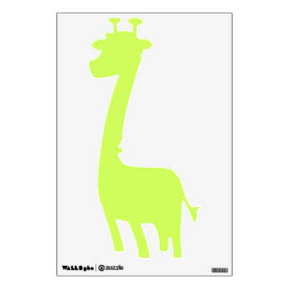 Chartreuse Solid Color Wall Decals