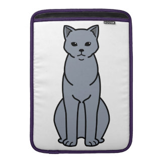 Chartreux Cat Cartoon Sleeve For MacBook Air