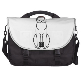 Chartreux Cat Cartoon Bags For Laptop