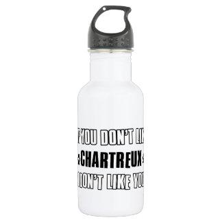 Chartreux cat design 18oz water bottle