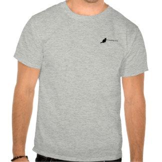 Chartreux cat logo t-shirt