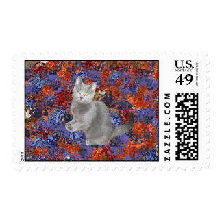 Chartreux Cat Postage