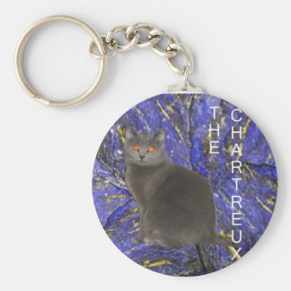 Chartreux Key Chain