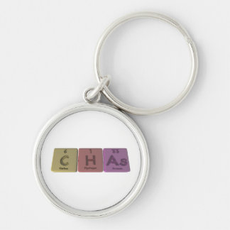 Chas as Carbon Hydrogen Arsenic Keychains
