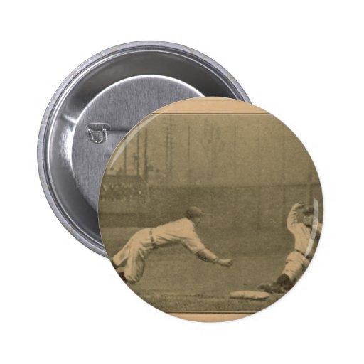 Chas. O'Leary/Tyrus Cobb, Detroit Tigers Pin Redondo 5 Cm