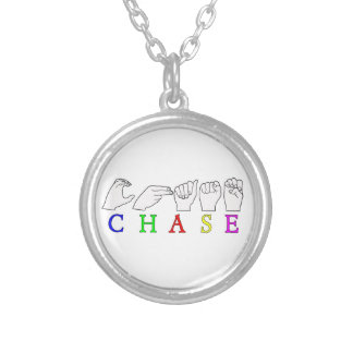 CHASE ASL FINGERSPELLED MALE NAME NECKLACES