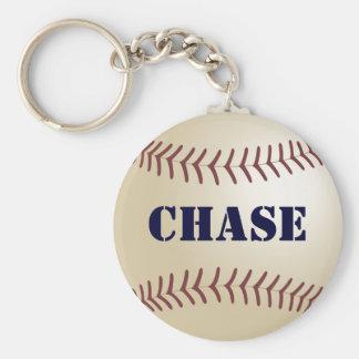Chase Baseball Keychain