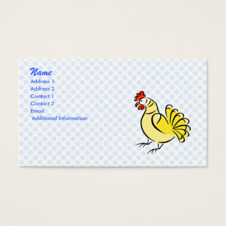 Chase Chicken Business Card