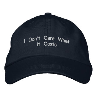 Chase Embroidered Baseball Hat