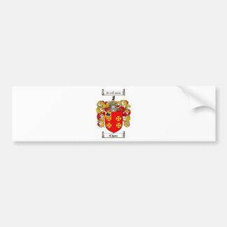 CHASE FAMILY CREST -  CHASE COAT OF ARMS BUMPER STICKER
