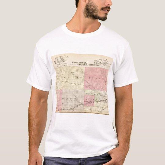 Chase, Hayes, Dundy, and Hitchcock, Nebraska T-Shirt