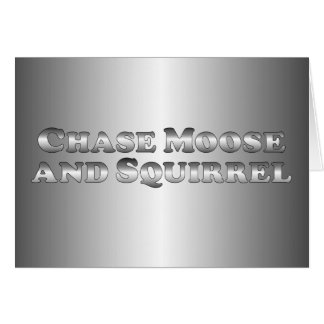 Chase Moose and Squirrel - Basic Card