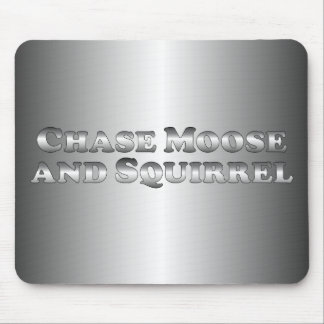 Chase Moose and Squirrel - Basic Mouse Pad