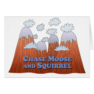 Chase Moose and Squirrel - Dark Card