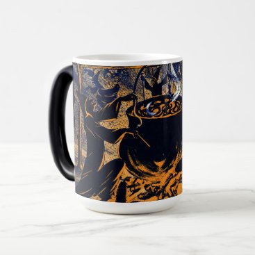 Halloween Themed Chase of the Witches Mug