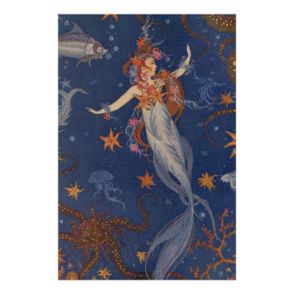 Chase Rainbows Swim with Mermaids, Ride Unicorns Poster