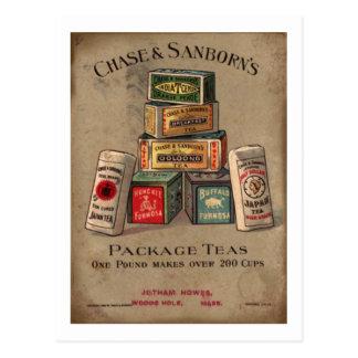 Chase & Sanborn's Tea Postcards