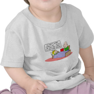 chase scene kid bed dad read book t shirts
