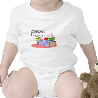 chase scene kid bed dad read book baby bodysuits