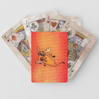 Chase The Moose Playing Cards
