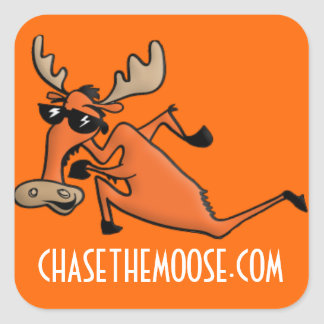 Chase the Moose Sticker