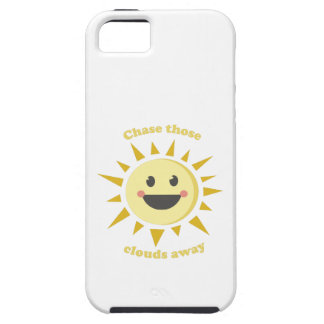Chase Those Clouds Away iPhone 5 Cover