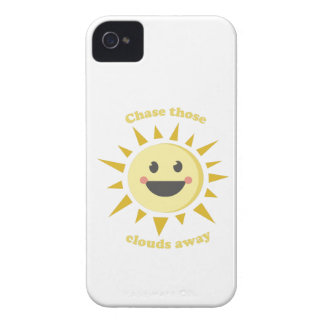 Chase Those Clouds Away iPhone 4 Cover