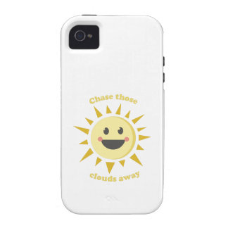 Chase Those Clouds Away iPhone 4 Case