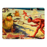 "Chased by Devils 6.5"" X 8.75"" Invitation Card"